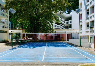 Dorm-E Badminton court