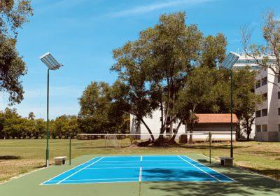 ST9 Badminton court