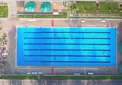 Swimming pool at AITCC
